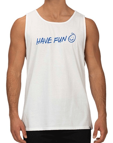 20 헐리HURLEY HAVE FUN TANK_WHITE SOAR