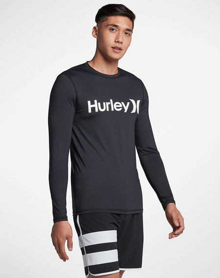 20 헐리 래쉬가드Hurley One And Only BLACK