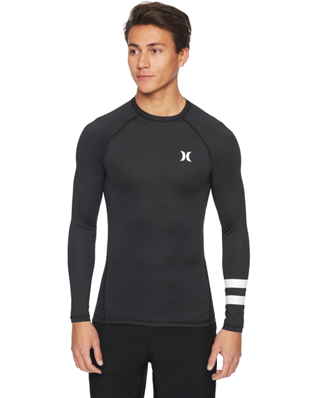 20 헐리 래쉬가드Hurley Pro Light Top Long Sleeve BLACK